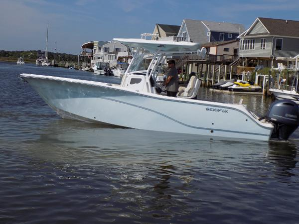 Sea Fox 266 Commander