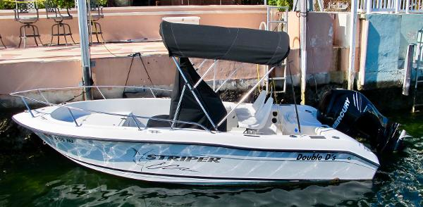 Seaswirl Striper 1851 Center Console O/B