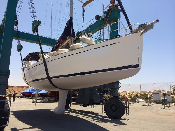 Salona 42 Dry docked