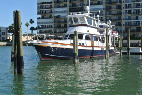 Gulfstar Custom 53/60 MKII Trawler At Berth