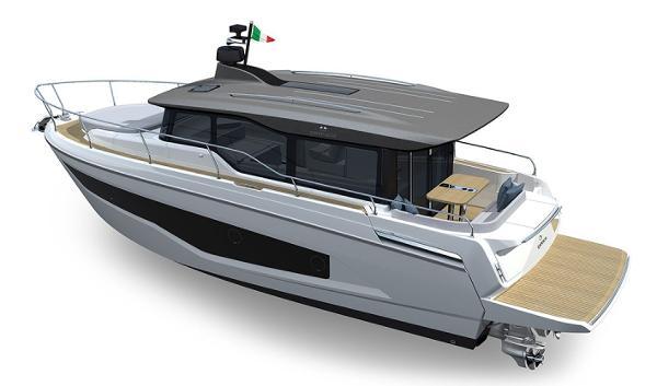 Cranchi T36 Crossover Profile 1
