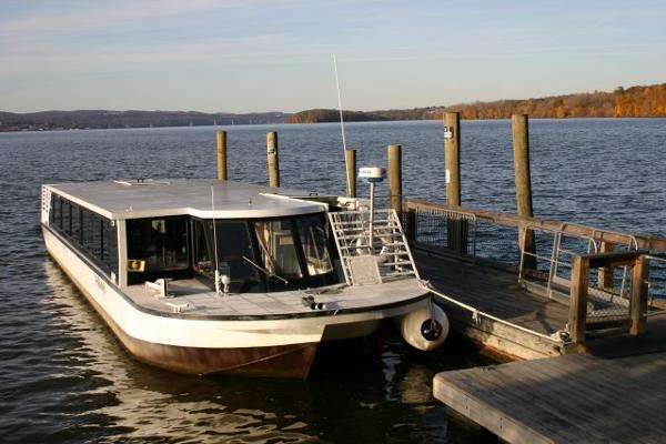 "54' x 14' Steel 49 PAX Water Taxi /7'4"" Air Draft"