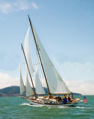 E.B. Schock Staysail Schooner SCORPIO