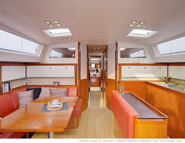 Interior (similar boat with leather option)