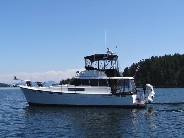 Bayliner 3818 Motoryacht 1989 Bayliner 3818