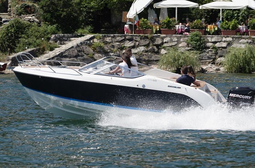 Quicksilver Activ 645 Cruiser im Vorlauf