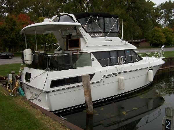 Used boats for sale in waterloo new york united states for 41 ft mainship grand salon
