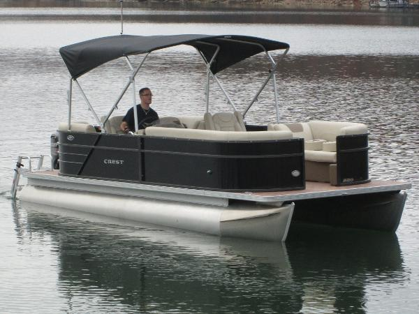 Crest Pontoon Boats CREI220