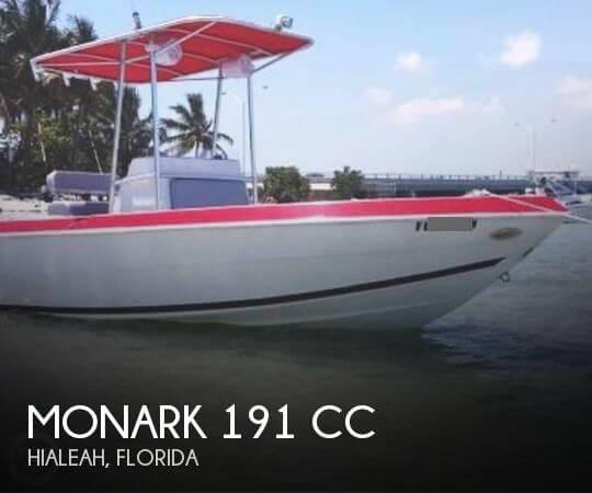 Monark 191 CC 1987 MonArk 191 CC for sale in Miami, FL