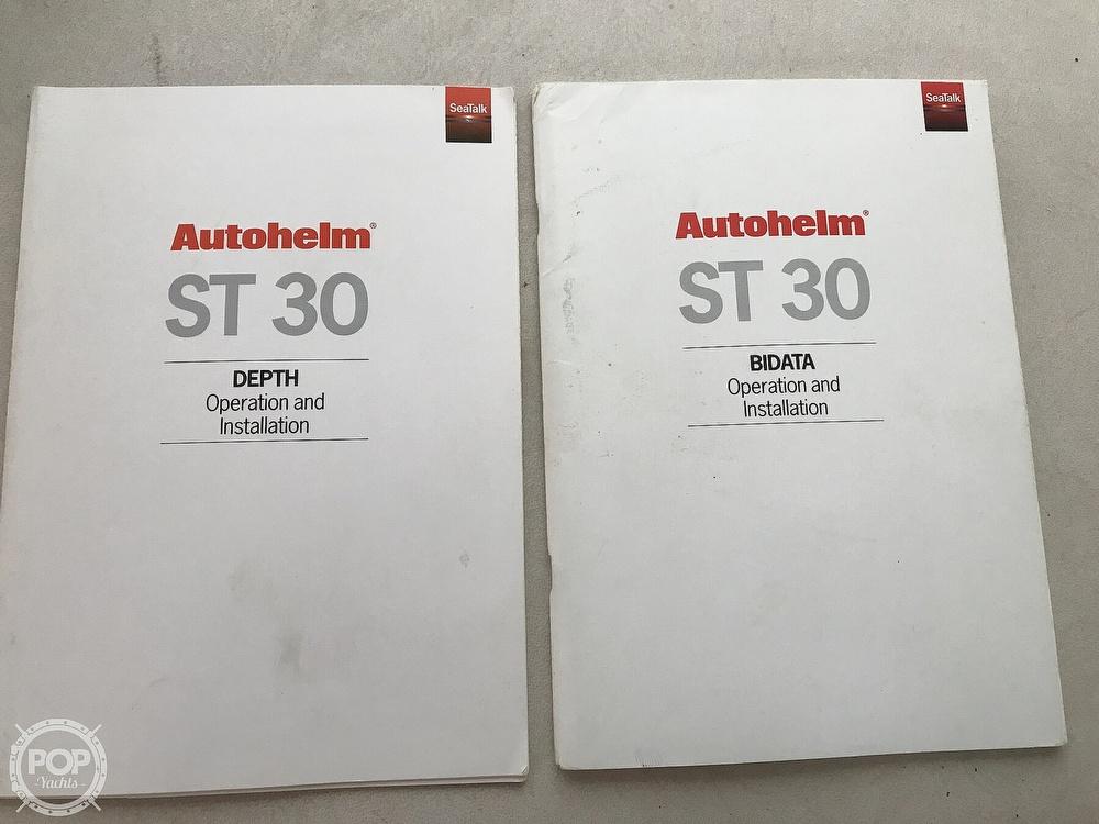 Bertram Shower Sump Discharge Label