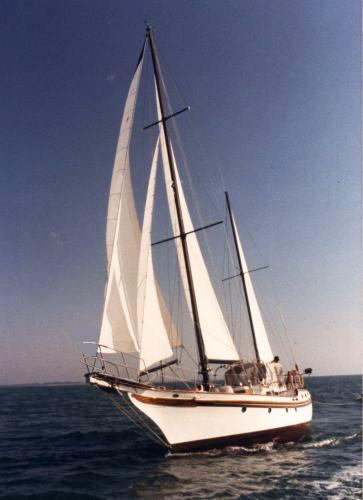 Vagabond 47 1984 Vanguard 47 Sailing
