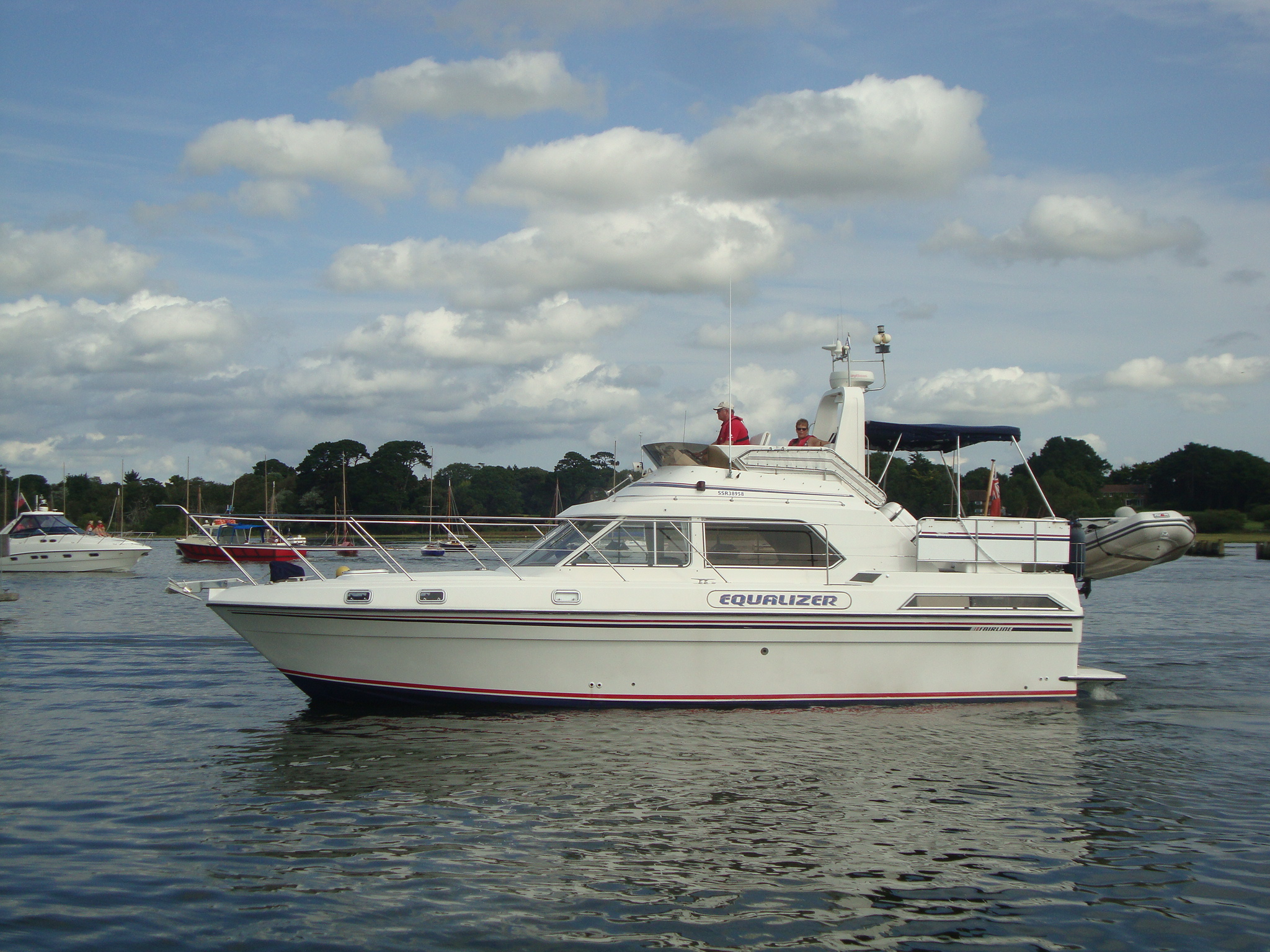 Fairline Turbo 36 Equalizer