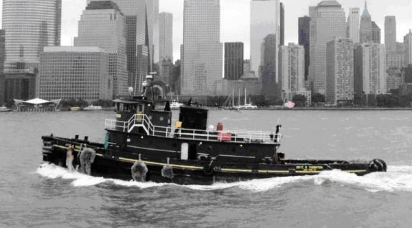 Custom 95' x 26' Steel Single Screw 2000hp Tugboat