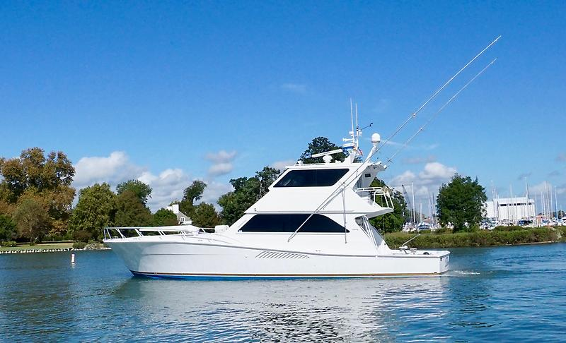 Viking 58 Enclosed Flybridge CATS, PAINTED Timeless