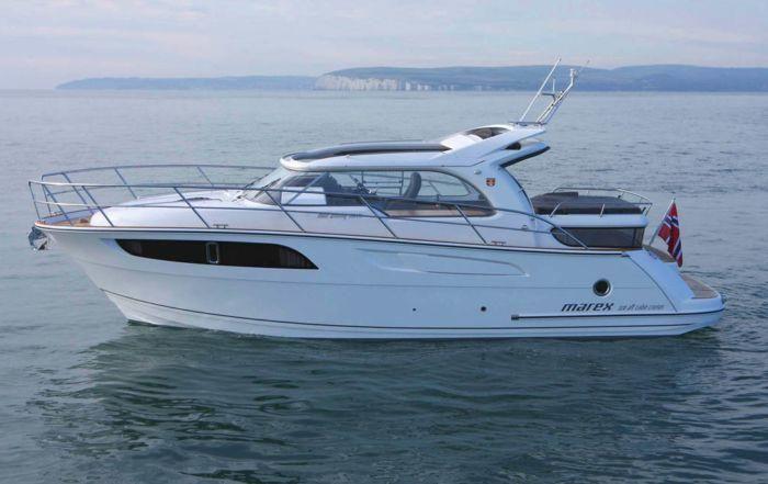Marex 320 Aft Cabin Cruiser 8211 Fredericia Boatshow 17