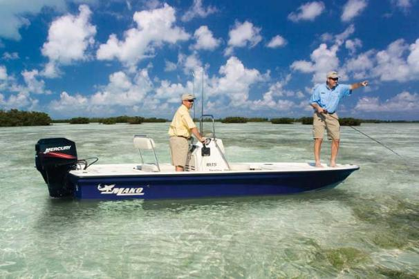 Manufacturer Provided Image: Cruise the shallows bigger boats have to avoid.