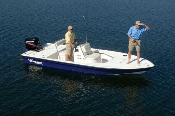 Manufacturer Provided Image: The large bow deck makes the 18 LTS great for sight casting.