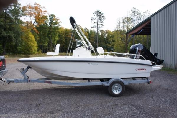 Boston whaler 170 dauntless boats for sale for Outboard motor shop oakland