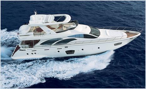 Azimut 75 Azimut 75 Sailing