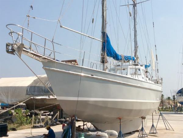 47 FT Steel Ketch