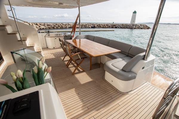 Princess 85 Motor Yacht - Aft Deck