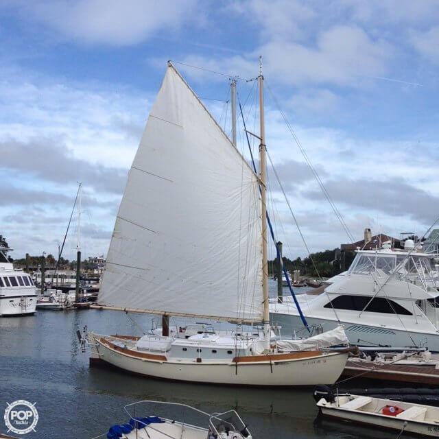 Custom Gaff Rigged Sloop 1996 Custom Built Gaff Rigged Sloop for sale in Isle Of Palms, SC