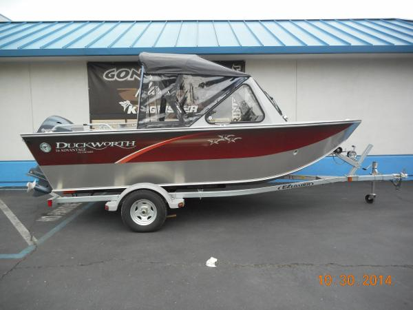 Duckworth 16 Advantage Outboard