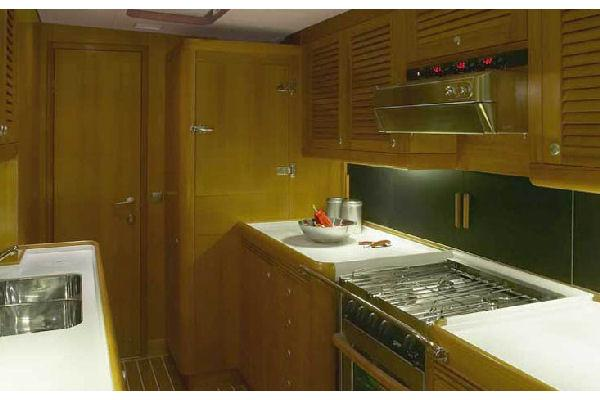 Nautor Swan 75 S Galley