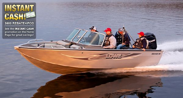 Lowe fs new and used boats for sale for Fish and ski boats for sale craigslist