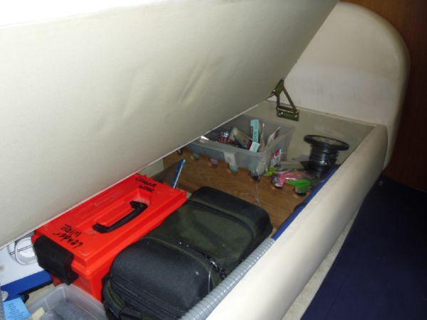 Storage Under Salon Sofa