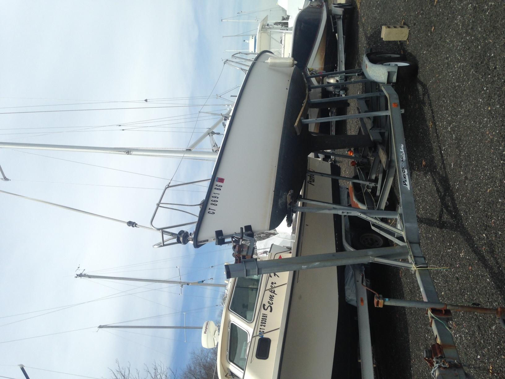 Gower Boatyard Colgate 26