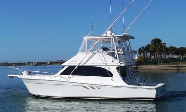 Egg Harbor 43 Sport Yacht Main Profile