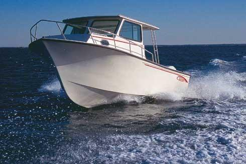 May-craft 2550 Pilothouse Cabin Manufacturer Provided Image