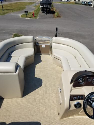 22 foot South Bay Pontoon Boat for sale at Captain's Marine Kalispell Montana
