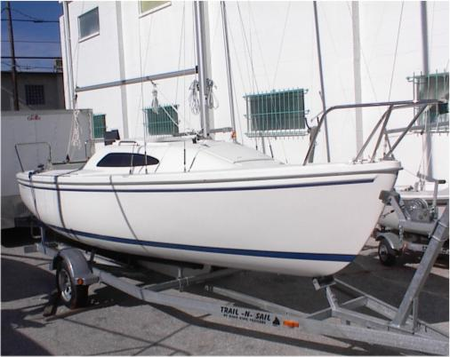 Catalina 22 Sport Swing Keel