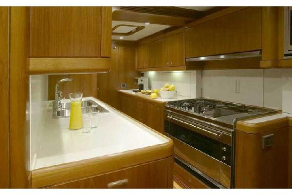 Nautor Swan 100 FD Galley
