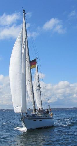 Custom Asmus KG Yachtbau Hanseat Commodore Ketch außen