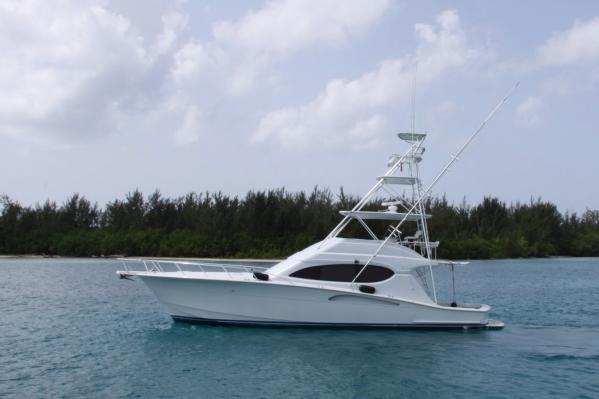 Hatteras Convertible Port Profile