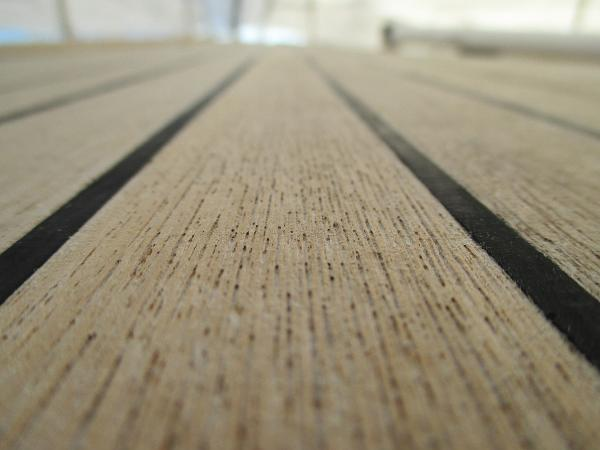 Teak deck cocndition