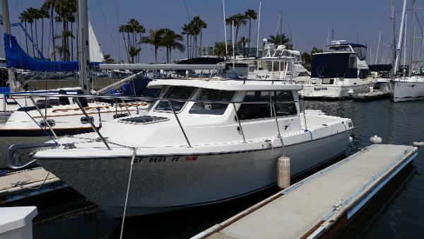 Skagit Orca 24 At her slip in Marina del Rey