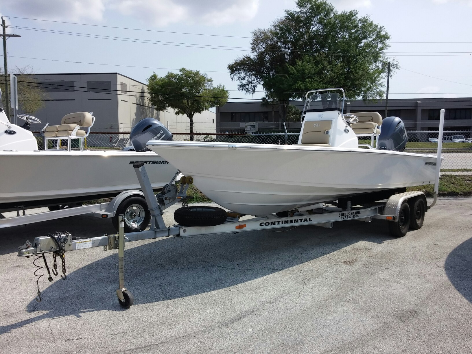 Sportsman Boats Tournament 214 Bay Boat