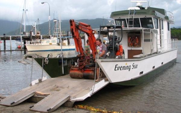 Barge Alloy Landing