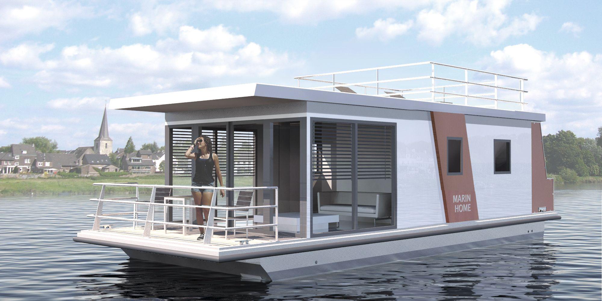 MarinHome Houseboat Hausboat