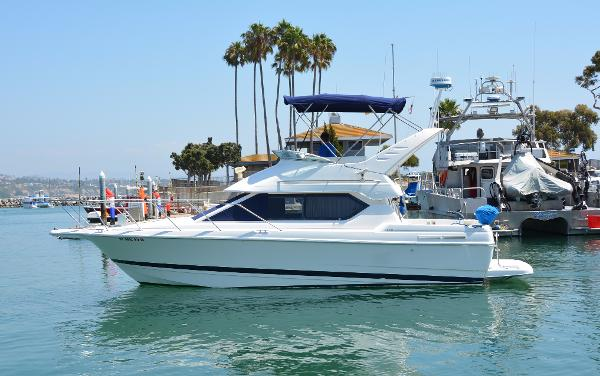 Bayliner 2858 Ciera Command Bridge Port Profile
