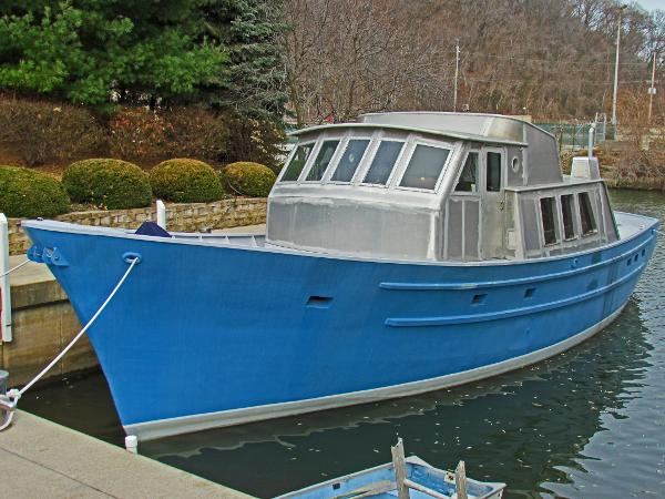 Seaton Trawler Long Range Custom 56 Dockside