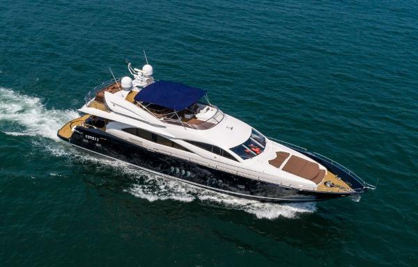 Sunseeker 90 Motor Yacht Profile