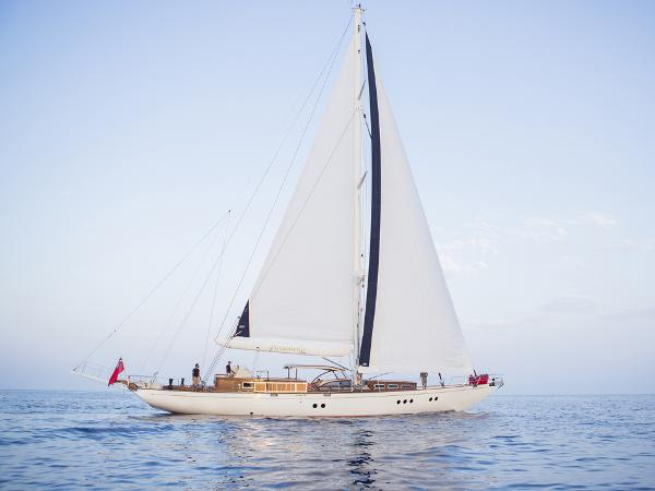 Aegean Cutter Cold moulded 28 m sloop