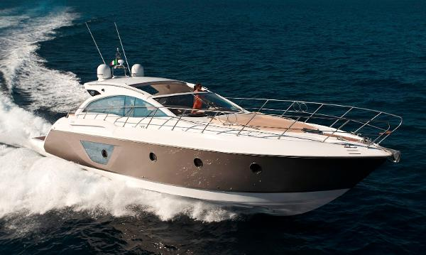 Sessa Marine C48 Manufacturer Provided Image: Sessa C48 Side Profile
