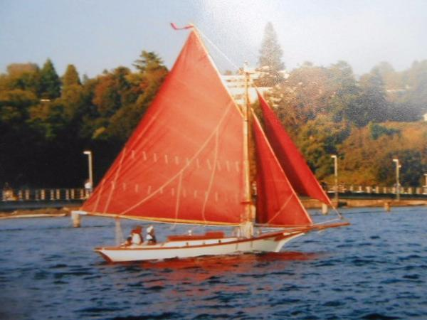 25 Friendship Sloop Gaff rig