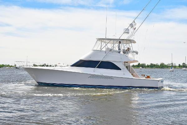 Viking 54 Convertible Port Side